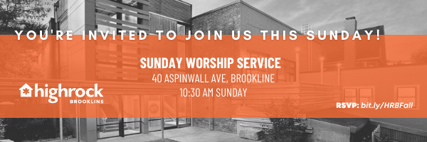 Join us for worship this Sunday!