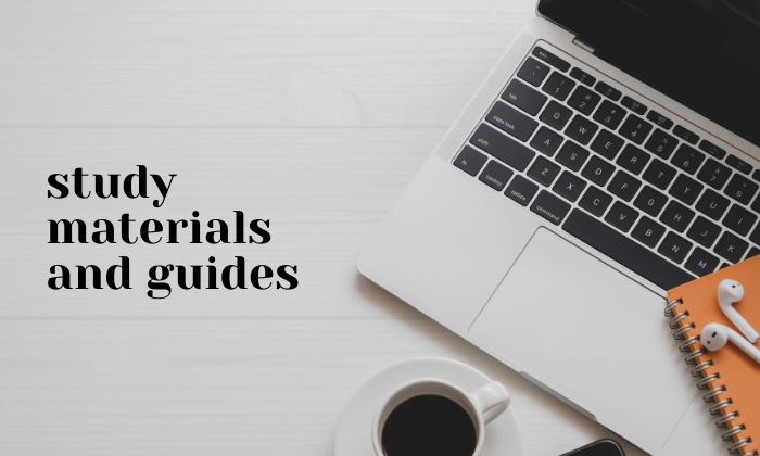 study materials and guides